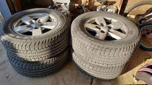 jeep commander rims and tires for Sale in West Chicago, IL