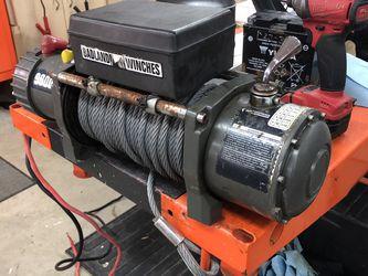 9000 lb Badlands Winch w remote control for Sale in Federal Way,  WA