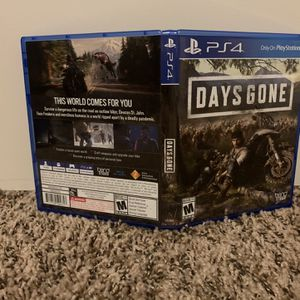 Days Gone Playstation 4 for Sale in Tigard, OR