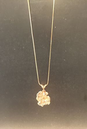 14K Yellow Gold Nugget Pendant for Sale in Columbus, OH