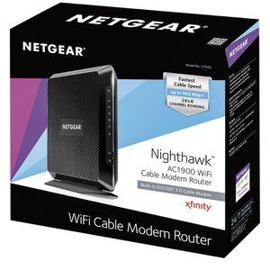 Netgear NightHawk AC1900 Wifi Modem for Sale in Mesa, AZ