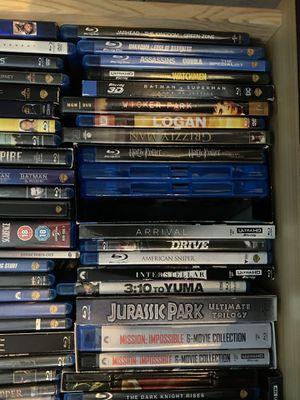 Blu ray $5 each or 2 for $8 singles for Sale in Manassas, VA