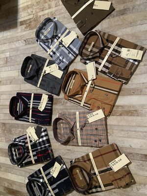 New men's Burberry dress shirts these are all XL for Sale in Pumpkin Center, CA
