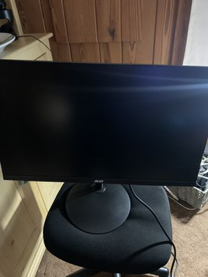 Acer 24 Inch full had 1080p gaming monitor. 75hz refresh rate and 1 ms response time for Sale in Vero Beach, FL