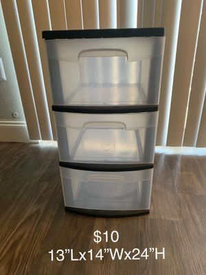 Plastic drawers for Sale in Orlando, FL