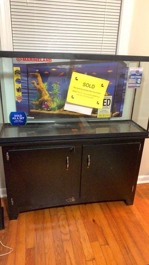Fish Tank With Stand for Sale in Knoxville, TN