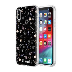 kurl iPhone XS and iPhone X Printed Fashion Case - Metallic Stars Design for Sale in National City, CA