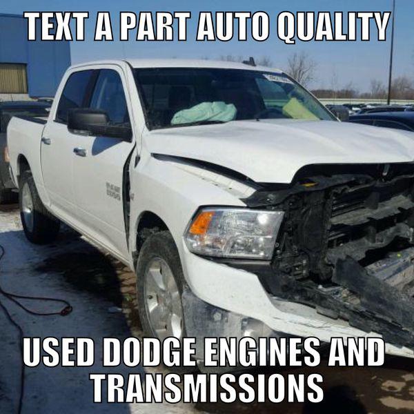 Dodge used engine & transmission