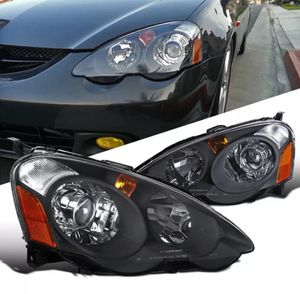 2002 - 04 Acura RSX Black Housing Projector headlights 💡🏎 for Sale in Montebello, CA