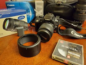 Canon Rebel XT DSLR Camera w/extras for Sale in Chicago, IL