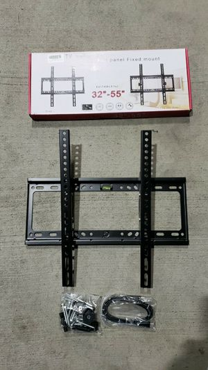 "New Universal 32 to 55 inch LCD LED Plasma Flat Tilt TV Wall Mount 32 37"" 40"" 42 46"" 47 50"" 52 55"" inch tv television bracket 110 lbs capacity for Sale in Whittier, CA"