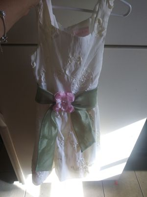 Beautiful girls dress flower girl or first communion for Sale in Springfield, MA