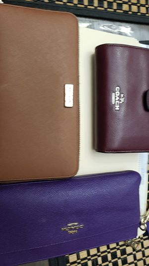 3 wallets for sale 2 Authentic Coach... 1 authentic Kate Spade for Sale in Calumet City, IL