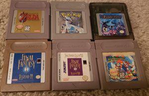 6 Gameboy Games for Sale in Clarksburg, MD