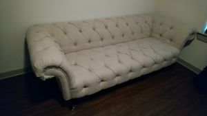 Tufted beautiful ivory color sofa! $325 for Sale in Franklin, TN