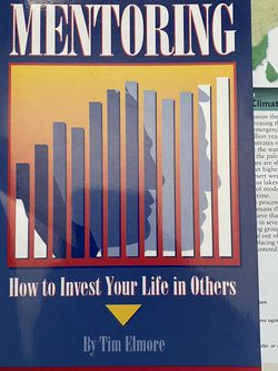 Mentoring : How To Invest Your Life In Others By Tim Elmore Book for Sale in Chula Vista,  CA