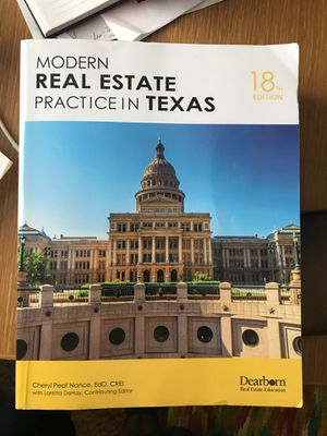 Real estate book, real estate textbook for Sale in Richardson, TX