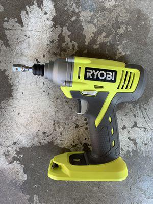 Ryobi 18v impact driver for Sale in Fresno, CA