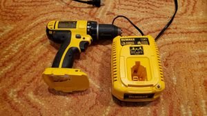 Dewalt 18v drill and charger for Sale in Cherry Hill, NJ