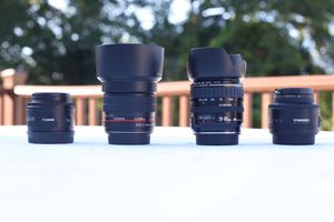 Lenses for Canon DSLRs for Sale in Freeport, NY