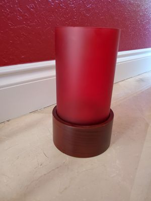 Red decorative candle stand for Sale in Miramar, FL