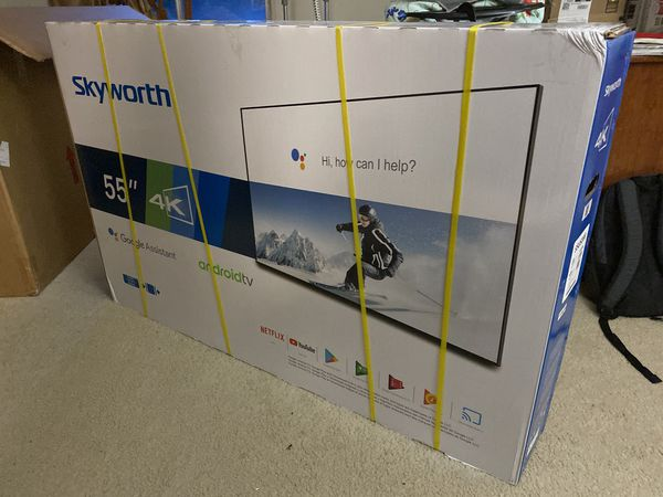 55 inch 4K Ultra HD HDR Smart TV with 3 x HDMI 1 USB Brand New.