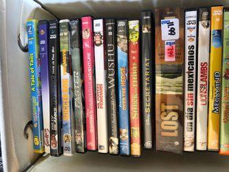 Various Dvds for Sale in YSLETA SUR,  TX