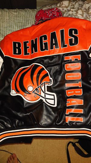 Bengals leather jacket for Sale in Los Angeles, CA