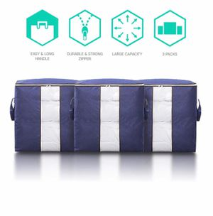 Storage Bag - Large Breathable Foldable Collapsible Closet Bag Organizer Container for Sale in Huntington Beach, CA