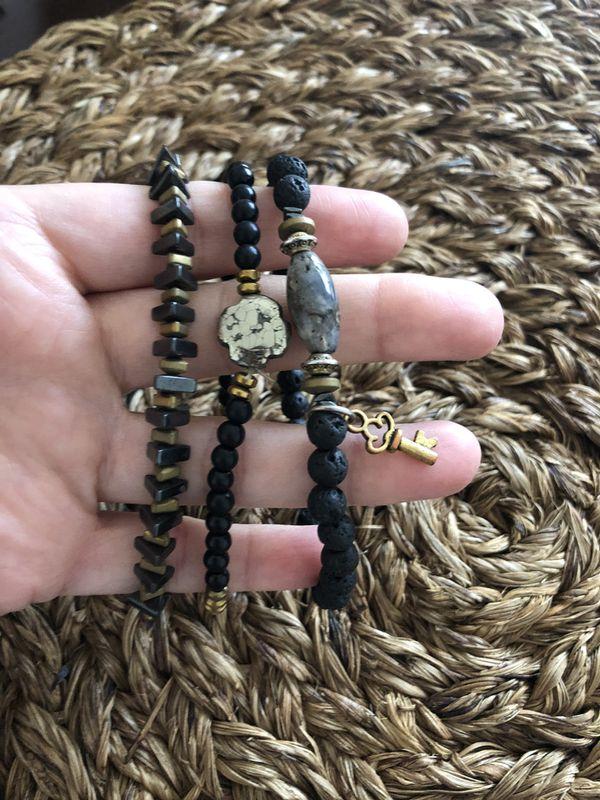 Chávez for Charity set of 3 bracelets