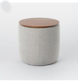 West Elm(Brand New) Upholstered Base Ottoman-Orig price$300 for Sale in Orlando, FL