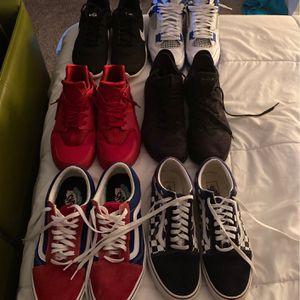 Sneaker Bundle Jordan's Nike Vans for Sale in Woodstock, GA