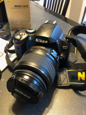 Nikon camera and Extras for Sale in Bellevue, WA
