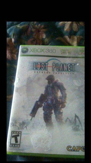 Xbox lost planet extreme condition game for$4.00 for Sale in Spartanburg, SC