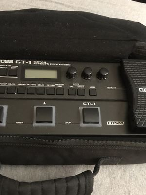 Boss gt1 guitar pedal $130 for Sale in Yalesville, CT