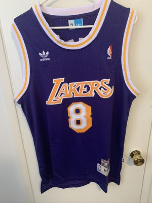 Kobe Bryant #8 purple retro Los Angeles Lakers Jersey for Sale in Los Angeles, CA