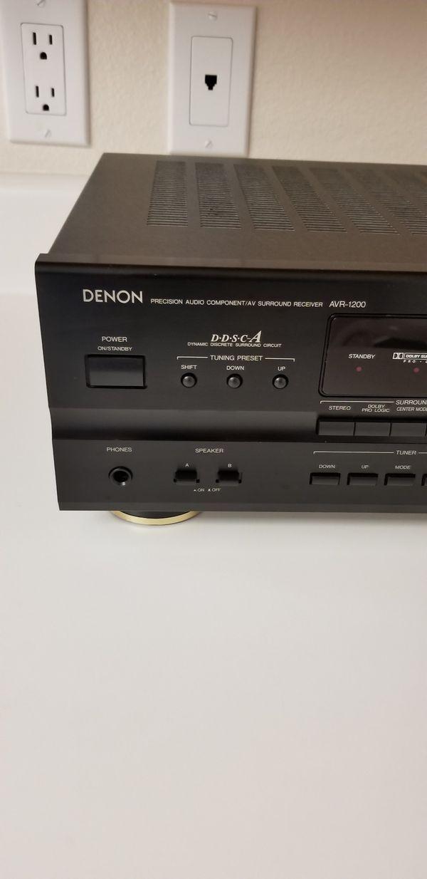 Denon AVR - 1200 surround receiver for Sale in Marysville, WA - OfferUp
