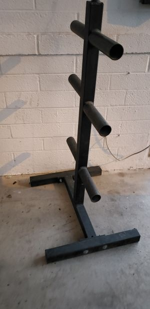 Olympic Weight plate rack for Sale in Mesa, AZ
