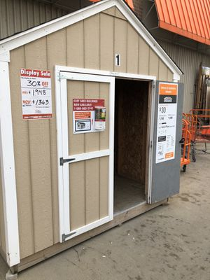 Tuff Shed - Sheds USA model. 8x10 Beautiful strong shed. Was $1,948 I am now selling for $1,363!!! This is ready for free delivery(certain radius) wo for Sale in Cleveland, OH