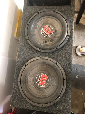 Subwoofer American bass 12 in for Sale in Visalia, CA