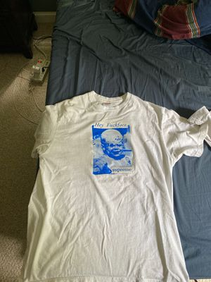 Two supreme t-shirts with bag for Sale in Chevy Chase, MD
