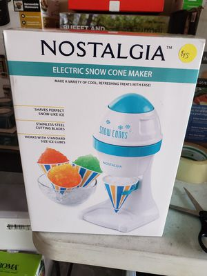 New electric snow cone maker for Sale in Riverside, CA