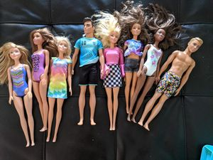 Beach Barbies and kens for Sale in Tacoma, WA