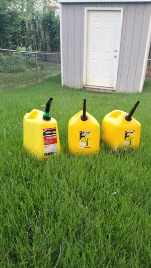 Three new diesel cans full - 15 gallons for Sale in Gambrills, MD