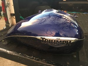 Motorcycle tank triumph , Harley Honda Kawasaki vintage old for Sale in Colleyville, TX