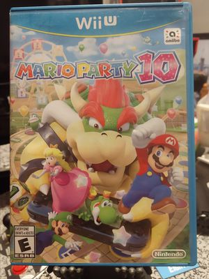 Nintendo Wii U Game Mario Party 10 for Sale in Vancouver, WA