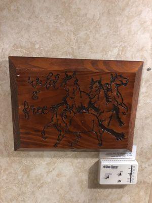 Wooden Frame Wall Decor Horses for Sale in Clarksburg, WV