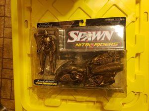 Spawn nitro riders, green vapor, gold variant, mcfarlane for Sale in Festus, MO