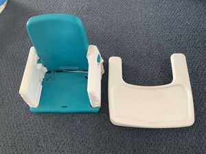 Vintage portable booster seat with tray for Sale in Lancaster, OH