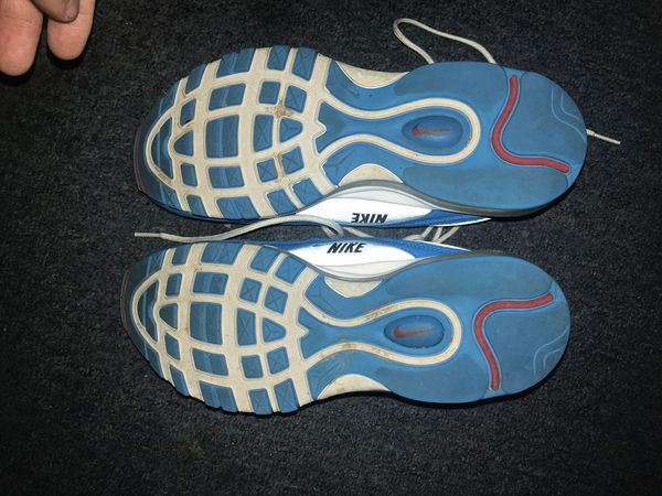 Air max 97 over branding blue hero size 9.5